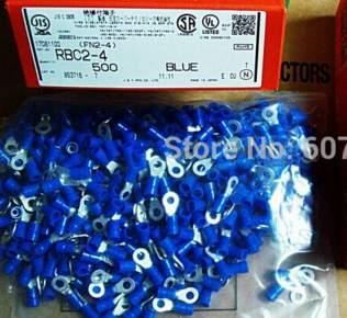 RBC2-4 terminales de anillo color azul RBC2-4 (FN2-4) conectores terminales carcasas 100% piezas nuevas y originales FN2-4 (RBP2-4)