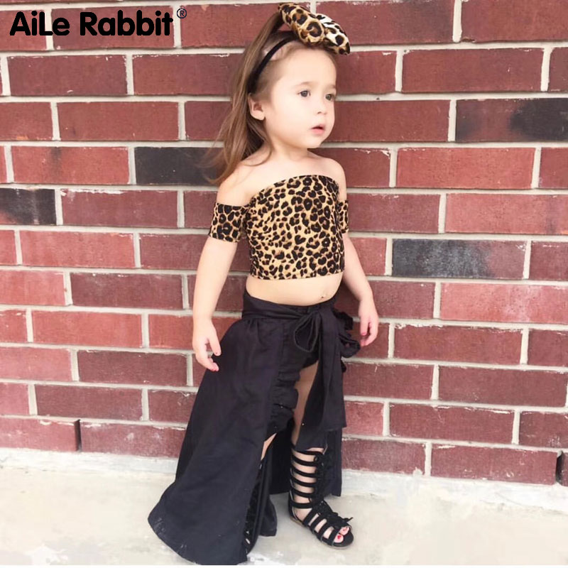 Asas rabbit conjunto infantil, conjunto de 3 peças de roupa infantil para meninas, estampas de oncinha, shorts