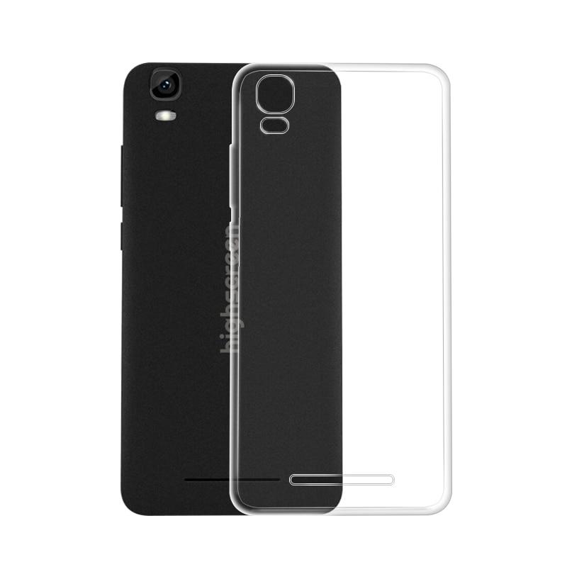 "Funda suave de TPU para Highscreen Easy L pro, funda de teléfono de silicona suave transparente de 5,0 ""para Highscreen easy L Pro, funda"