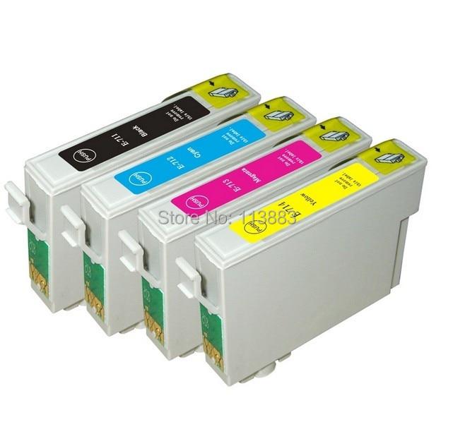 Совместимый чернильный картридж для EPSON Stylus SX100/SX110/SX105/SX115/SX200/SX205/SX209/SX210, 4 чернил, 89/71 T0711-T0714