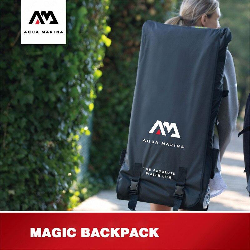 AQUA MARINA surf Junta accesorios llevar mochila paleta bolsa mochila para Inflatabale tabla de surf bomba de aire parte bolsas a prueba de agua