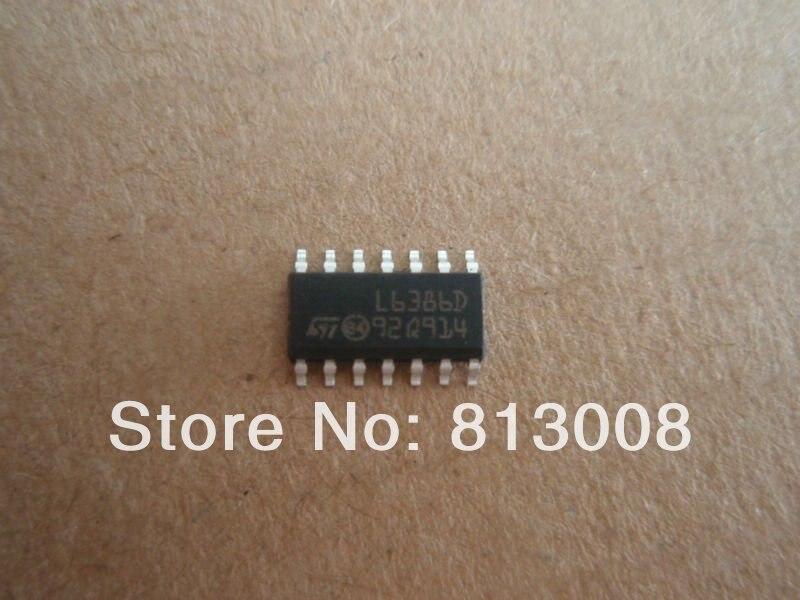 L6386D SOP14 100% nuevo original genuino para TV LED LCD reparación envío gratis Emax grupo JINYUSHI Stock