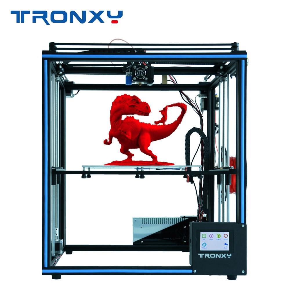 Tronxy 2020 X5SA kit de impresora 3d DIY, diseño completamente de metal con pantalla táctil y nivel automático