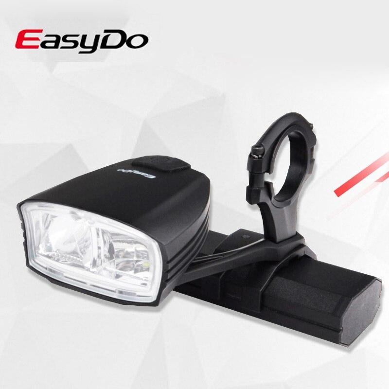 Nuevo faro inteligente EasyDo para bicicleta con interruptor de haz alto/bajo para bicicleta de carretera, lámpara frontal recargable USB para bicicleta