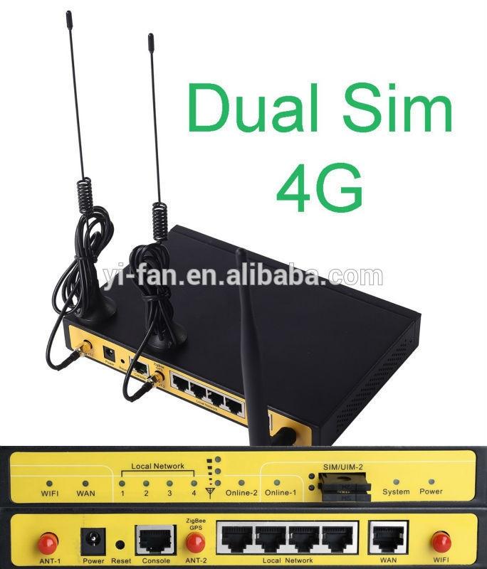F3946-راوتر 4G LTE ، sim مزدوج ، موازن نشط/نشط للأحمال