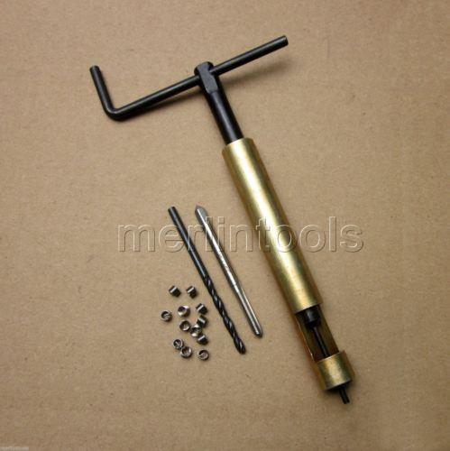 طقم تصليح خيوط الملف M2.5 x 0.45 أداة حفر وإدراج الصنبور
