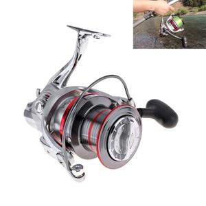 Full Metal perfect Spinning Fishing Reel 9000 Series 14+1 Ball Bearing 20KG / 44LB Long Distance Surfcasting Wheel