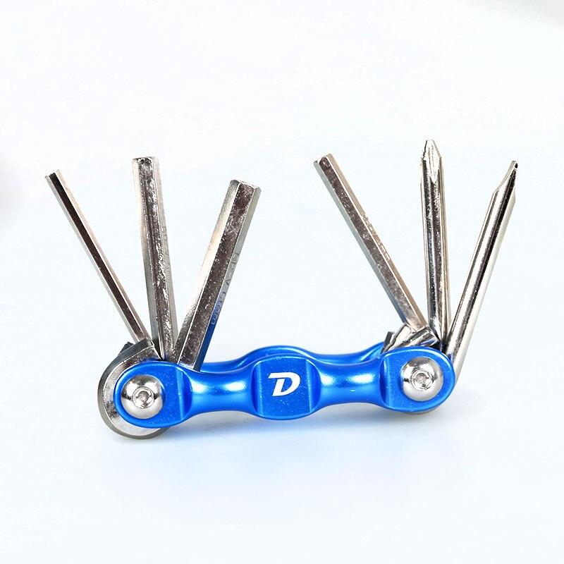 Портативный многофункциональный набор инструментов 6 в 1 для ремонта горного велосипеда, велосипеда, ключей с шестигранной головкой, 3/4/5/6 мм