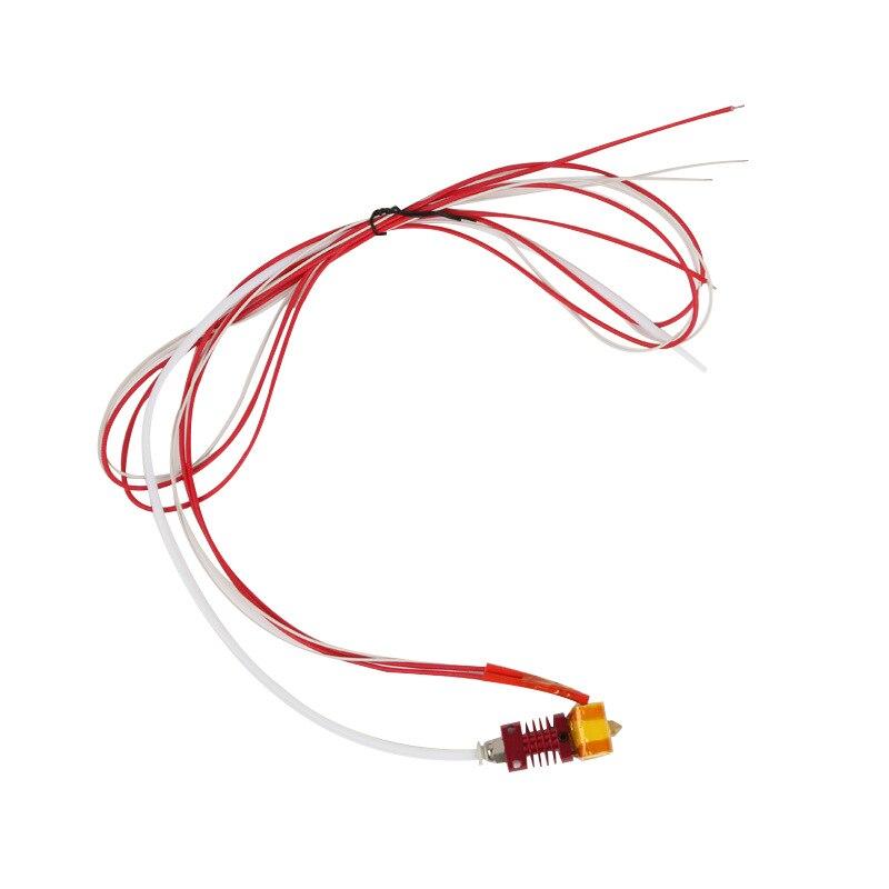 Hotend cr10 0.4 مللي متر فوهة عدة ل creality cr-10 سلسلة طابعة ثلاثية الأبعاد تجميعها التدفئة كتلة سخان درجة الحرارة درجة الحرارة الاستشعار