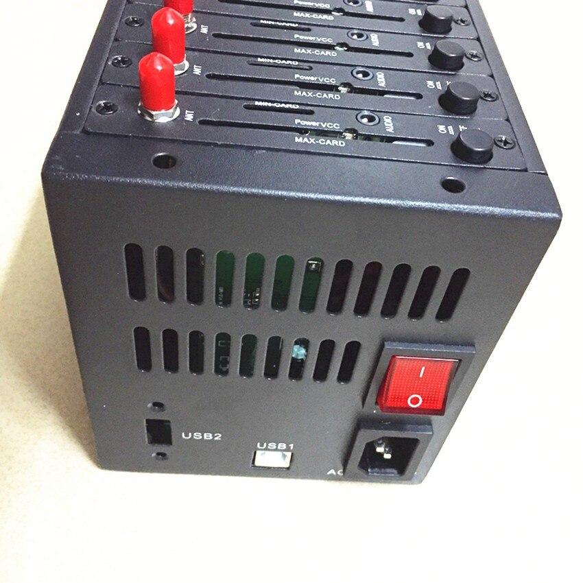 Envío rápido Original Wavecom q2406 módem gsm pool soporte abierto en/TCP/IP/USSD/voz/SMS/MMS con 900/1800mhz