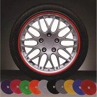 8 m car wheel protection wheel sticker decorative strip rim tire protection care cover drop boat car shape modification