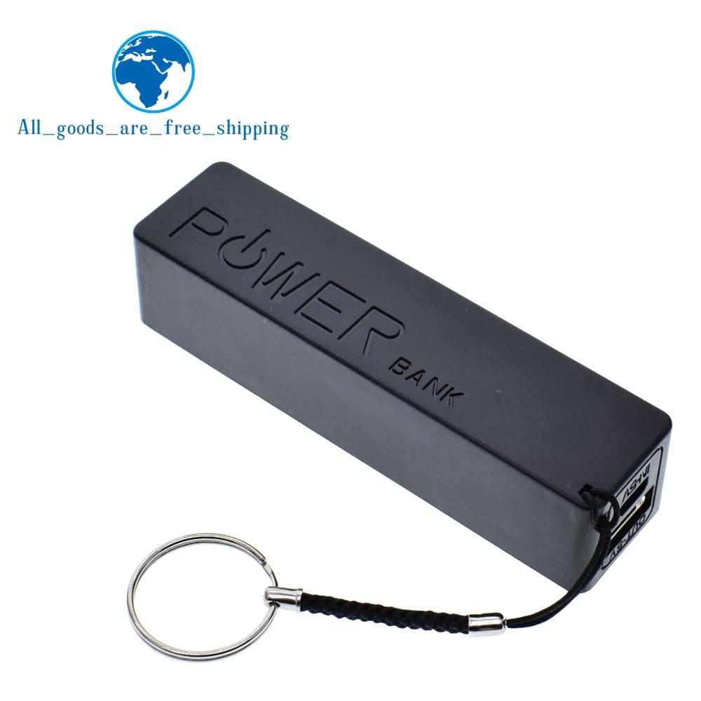 Чехол TZT USB Power Bank, Комплект 18650, зарядное устройство, DIY, коробка, корпус, черный, для Arduino