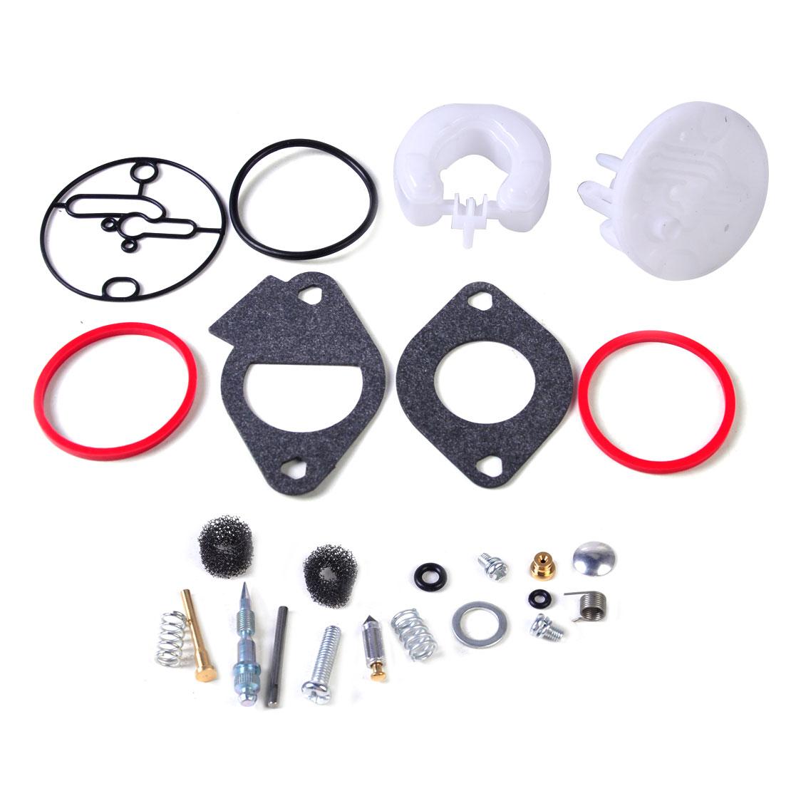 LETAOSK carburador Kit de reparación de reconstrucción apto para Niki Carb Briggs & Stratton Master Overhaul 796184 Accesorios