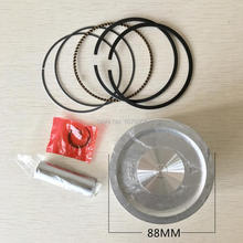 88 MM ZUIGERVEREN PIN CLIPS KIT honda GX390 GX 390 13HP Benzinemotor Vervanging Onderdelen