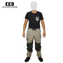 Pêche à la mouche chasse Wading pantalon hommes respirant taille Waders imperméable coupe-vent extérieur pantalon chasse gear