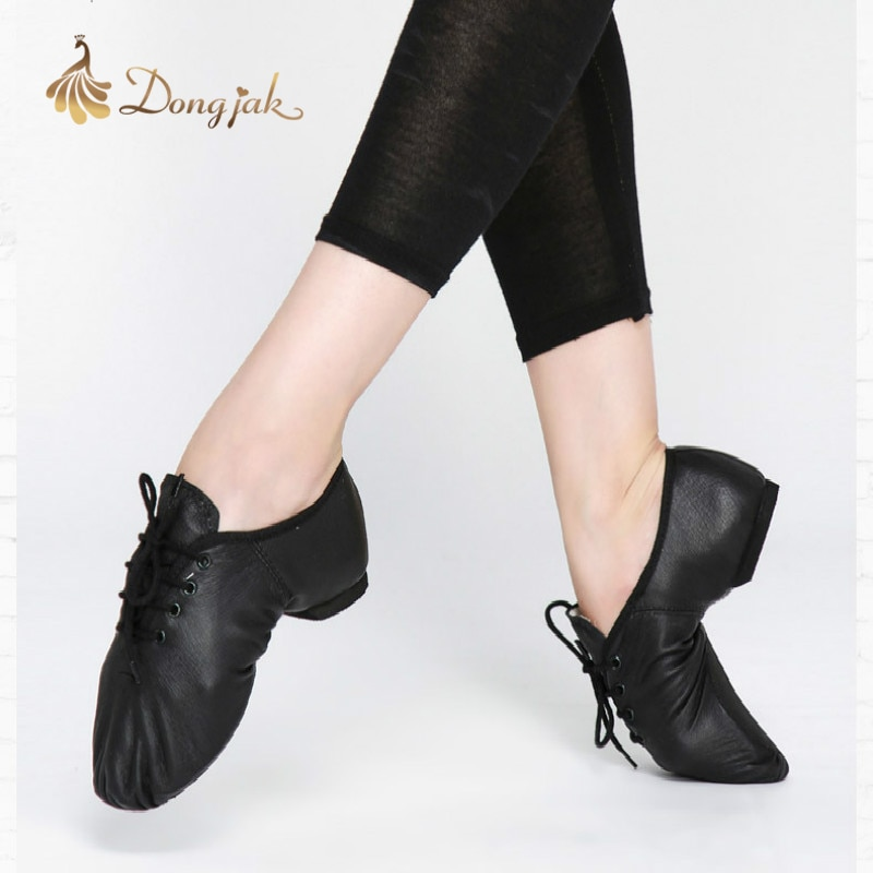 2017 Free Shipping New Jazz Dance Shoes for Adults and Children Comfortable Premium Soft Cow Leather Jazz Dance Shoes T-421