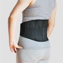 Néoprène orthopédique dos orthèse ceinture lombaire dos soutien orthèse ceinture soulager le bas du dos douleur AFT-Y006