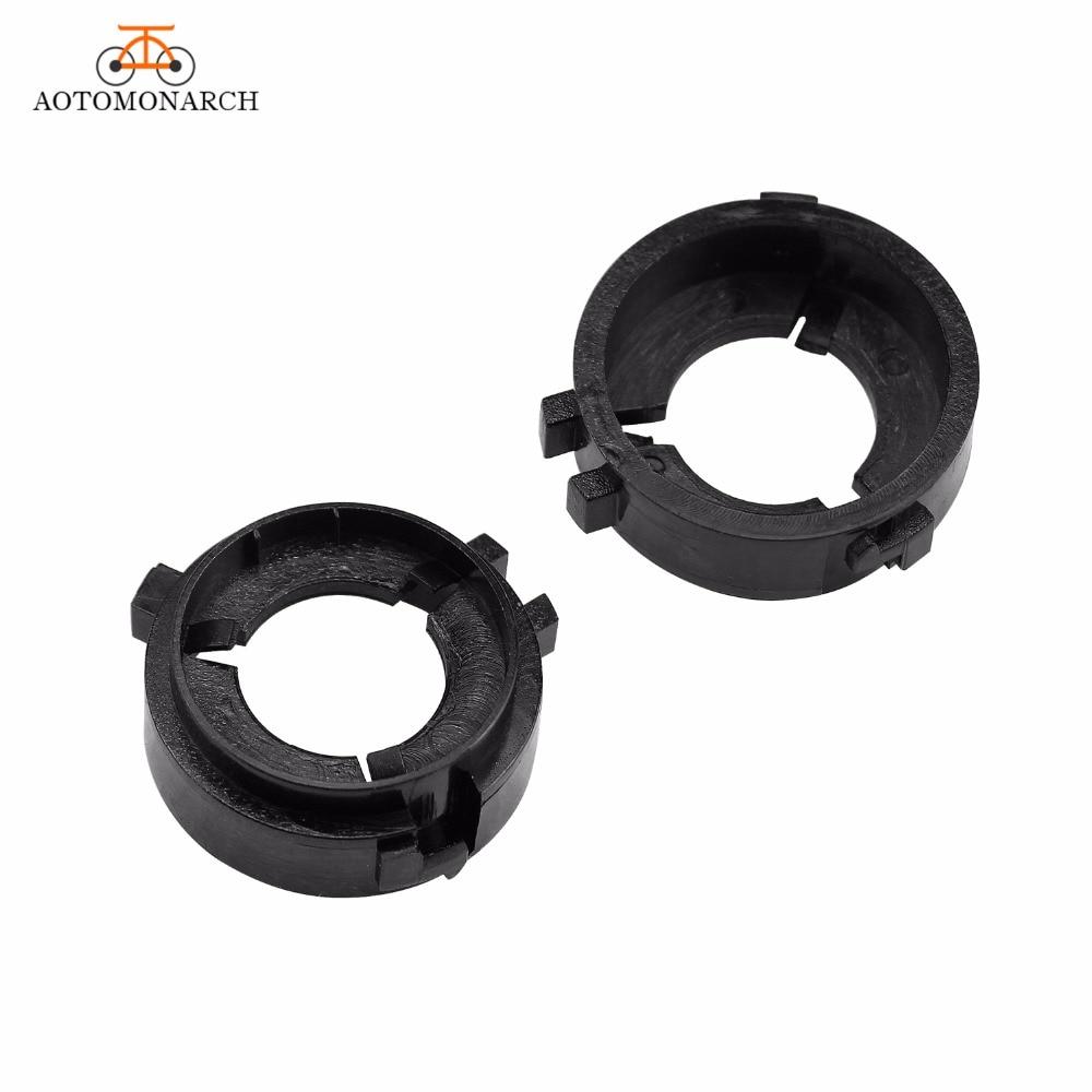 AOTOMONARCH Car Headlight Base Replacement H7 LED Socket Clip Retainer Auto Bulbs Adaptor Holder 2PCS G