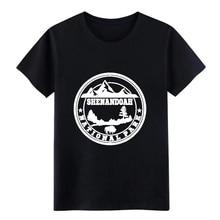 Parque Nacional SHENANDOAH, SHENANDOAH, camiseta del Parque Nacional camiseta personalizada camisa de talla grande 3xl ropa gráfica camisa de moda