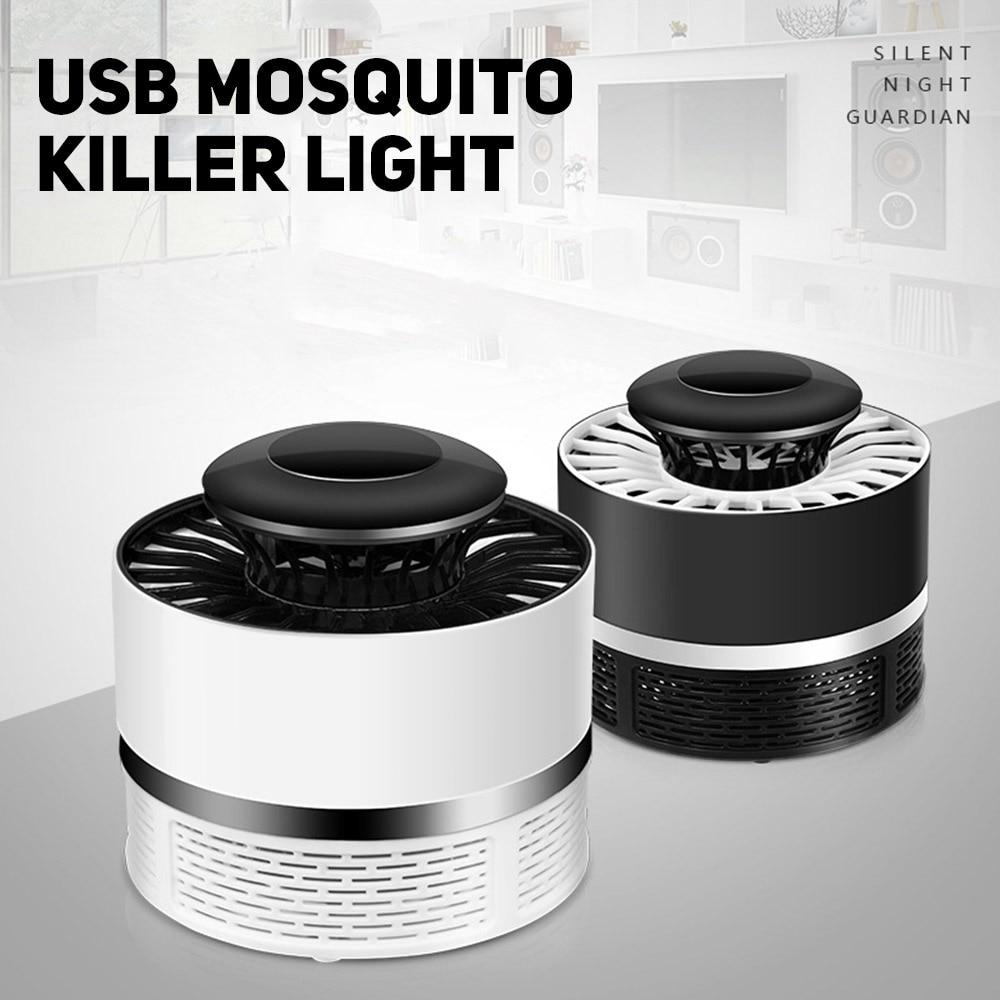 1PC USB LED Electric Potocatalyst Mosquito Trap Killer Light Bug Zapper Lampoutdoor/indoor photocatalyst mosquito trap lamp