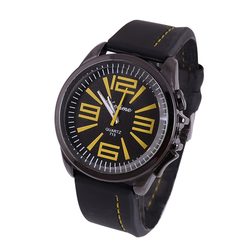 Gofuly 2020 relojes de lujo de negocios para hombres, reloj de pulsera de cuarzo deportivo de silicona informal, reloj militar Masculino Saat