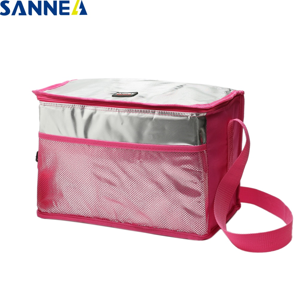 SANNE Waterproof Thermal Cooler Bag Food for Hot/Ice Portable Classical Insulated Ice Men Women Picnic