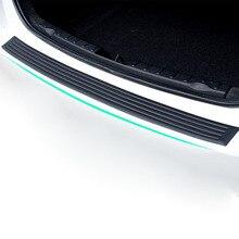 Car Styling Black Rubber Rear Guard Bumper Protector Trim cover For KIA RIO K2 K3 K4 K5 Optima Sportage R Cerato Sorento Soul