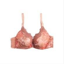 Free shipping Chinese wind low heart girl underwear bra deep V gathered DiaoZhengXing ms brand bra