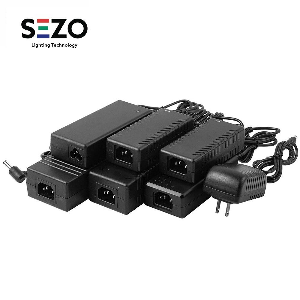 12V 1A 2A 3A 5A 6A 7A 8A 10A fuente de alimentación LED AC110-240V UK/US/EU/AU enchufe adaptador para 2811 5050 3528 tira de luz LED