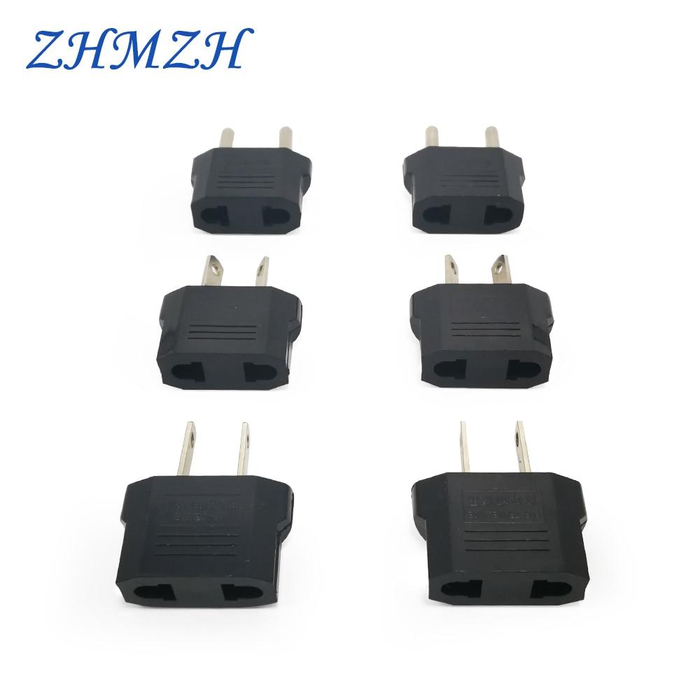 3pcs Universal Travel Power Plug Adapter AU Standard EU Type US Plug Converter Adaptor 10A Electrical Socket