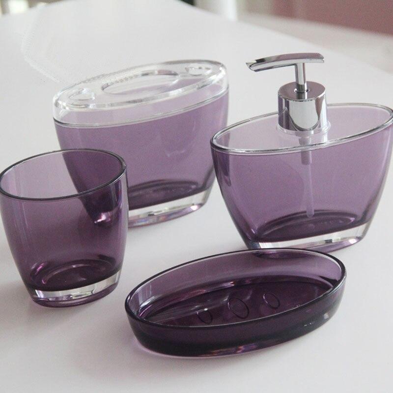 1 Uds jardín nuevo Set de accesorios de baño Baño europeo sanitario personalizado regalo de boda pintado hogar