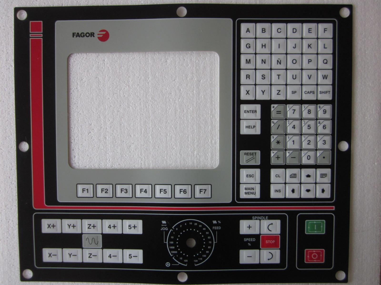 فاجور 8025M 8055 غشاء لوحة المفاتيح ل HMI لوحة إصلاح ~ تفعل ذلك بنفسك ، جديد ويكون في الأسهم