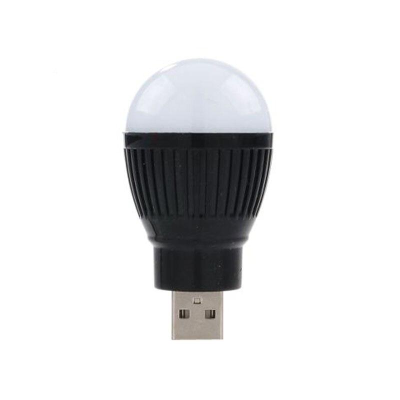 ¡Novedad! Mini lámpara LED USB portátil de 5V y 5W, Bombilla de bola con ahorro de energía para ordenador portátil con enchufe USB