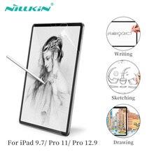 NILLKIN pour ipad pro 11 protecteur décran pour ipad 9.7 2017/2018 pour iPad Pro 12.9 Film de croquis de Texture de papier mat