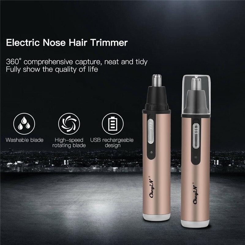 Eléctrico Personal cuidado de la cara de pelo Trimer para hombre y mujer de ceja, oreja Trimmer nariz eliminación Clipper máquina de afeitar P00