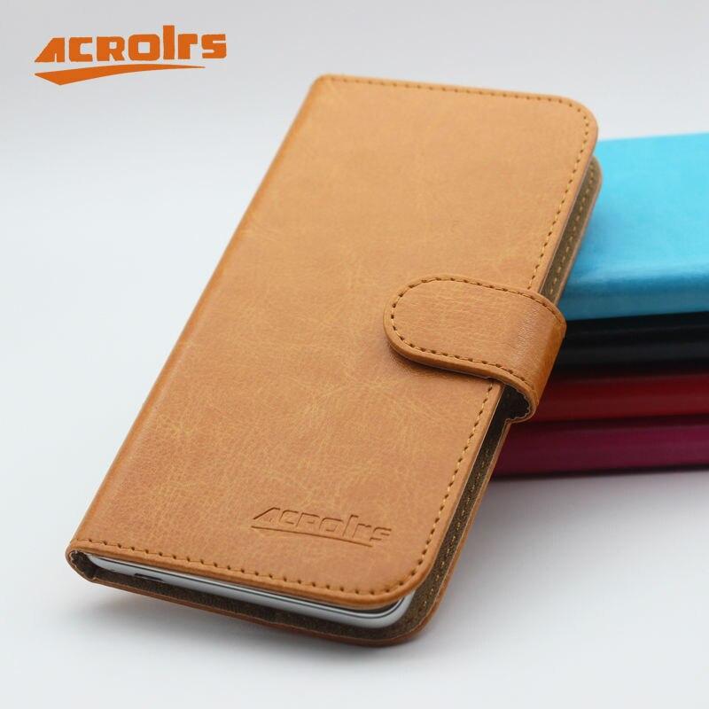 ¡Venta caliente! FinePower C5 nueva llegada 6 colores de cuero de lujo cubierta protectora para FinePower C5 DE CASO caso de teléfono de