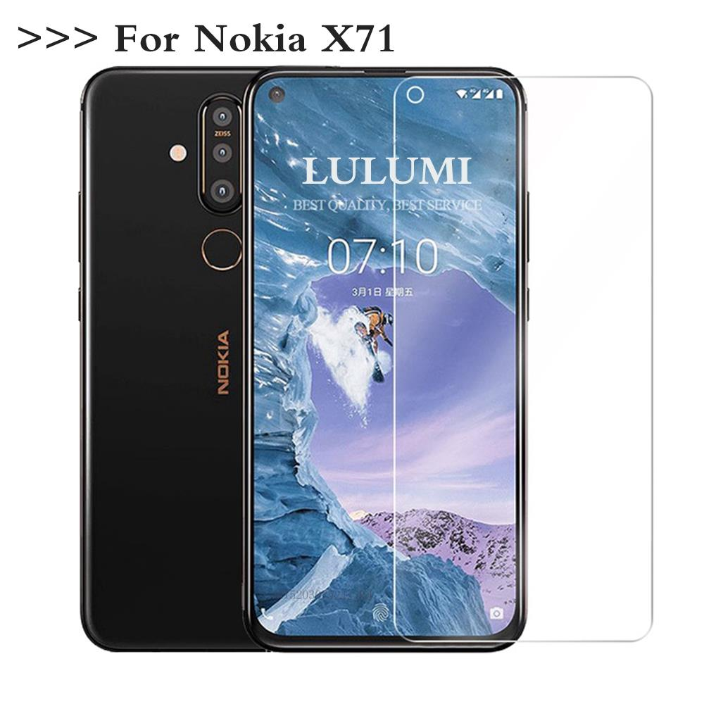 Tempered Glass For Nokia X71 Glass Screen Protector 2.5D 9H Premium Tempered Glass For Nokia X71 6.3
