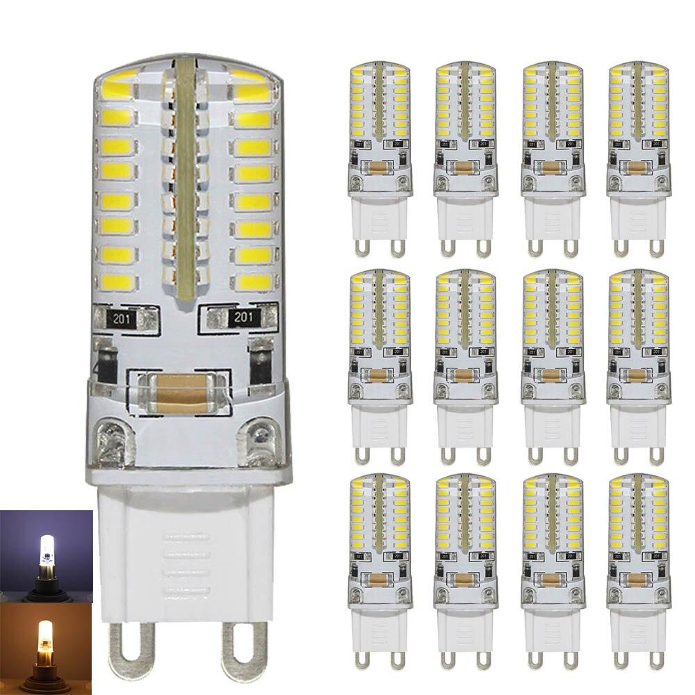 20x G9 led 3W AC220V G9 conduziu a lâmpada lâmpada Led SMD 3014 LEVOU g9 luz Substituir 30W halogênio lâmpada