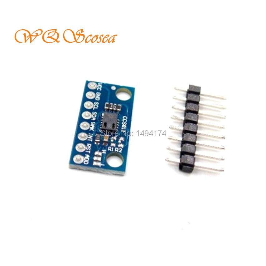 WQScosea Q8S-305 CCS811 Carbon Monoxide TVOC CO2 CO Cov VOCs Gas Sensors For Monitoring Air Quality Numerical For Arduino