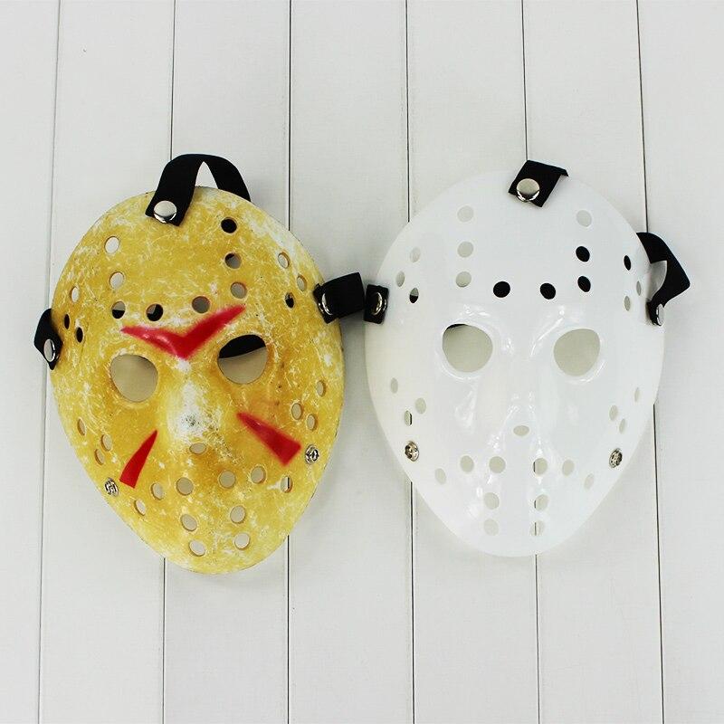 25cm Jason máscara Voorhees Jason vs Freddy hockey festival Fiesta asesino Cosplay Halloween máscaras juguetes de figuras de PVC