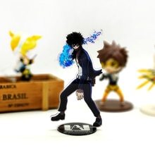 Liefde Dank U boku no My Hero Academia Dabi fire acryl stand figuur model plaat houder cake topper anime