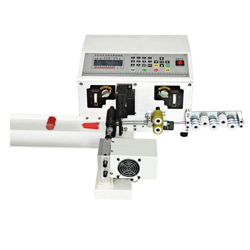 آلة تجريد أوتوماتيكية بالكمبيوتر ، 220 فولت ، 1 قطعة ، آلة قطع الكمبيوتر ، عالمية ، بالإضافة إلى آلة التواء مزدوجة الخط