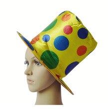 Chapeau haut-de-forme créatif de chapeau de cirque de Clown pour des adultes