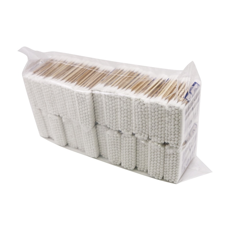 1440pcs Women Beauty Makeup 100% Cotton Swab Buds Make Up Double-head Wood