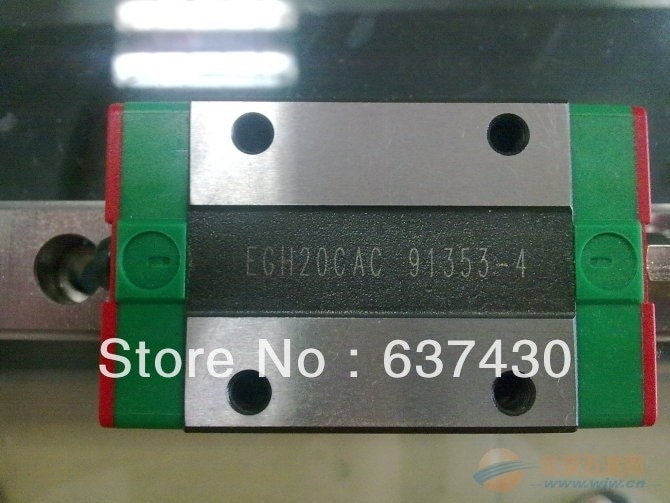 100% New Original HIWIN Linear Guide EGR15 L1000mm rail + 2pcs EGH15CA flanged block bearings
