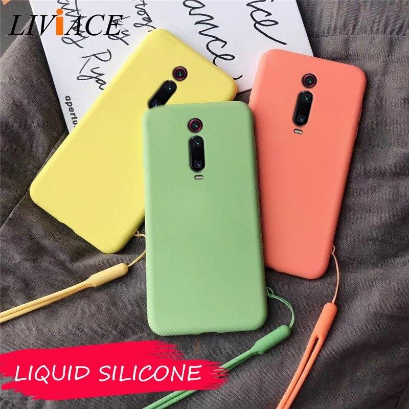 Оригинальные жидкие силиконовые чехлы для телефонов xiaomi MI 9T PRO mi9t мягкая задняя крышка чехол для xiaomi redmi k20 pro fundas coque