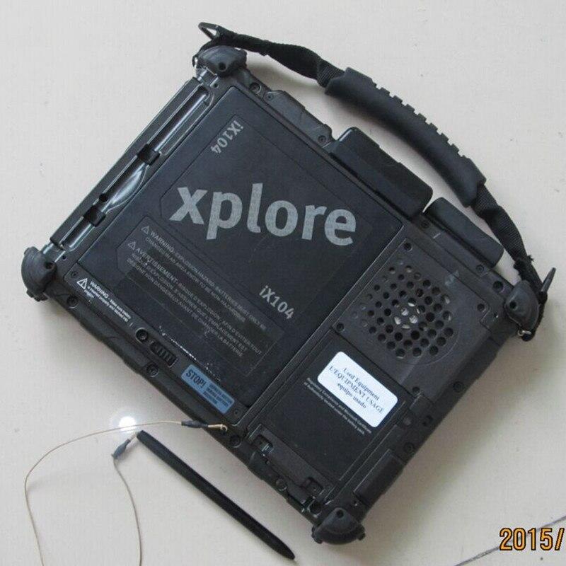El más nuevo 2020/6 mb star c4 software ssd 480g instalado bien en super Tablet xplore ix104 c5 i7 PC