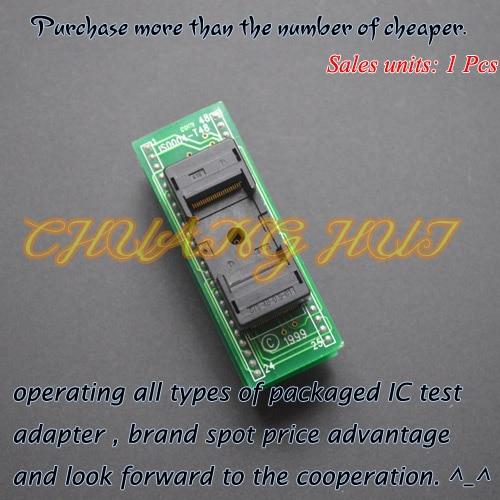 IS0004-T48 Programmer adapter tsop48 to dip48 Programmer adapter ic test socket fbga 48pin programmer adapter bga48 to dip48 adapter ic socket ic test socket