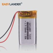 3.7V 802035 802033 702035 500 Mah Lithium Polymeer Batterij Li-Ion Oplaadbare Batterij Rijden Recorder Luidspreker