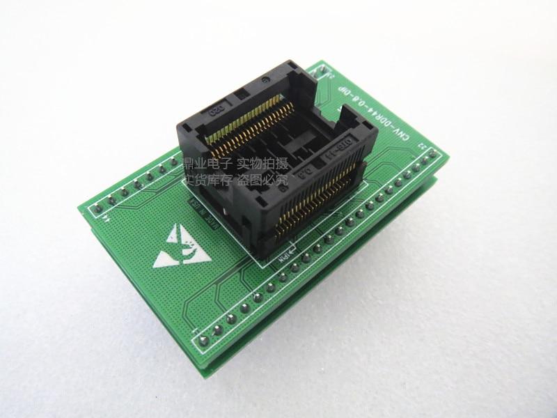 Opentop مزدوجة طبقة CNV-DDR44-0.8-DIP TSOP44/DIP 44PIN الملعب 0.8 مللي متر IC حرق محول مقعد اختبار مقعد اختبار المقبس اختبار مقاعد البدلاء